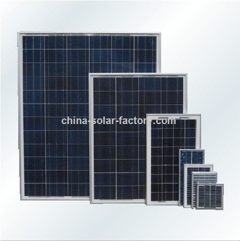 Promotional 160w Crystalline Solar Panel With Q Cell