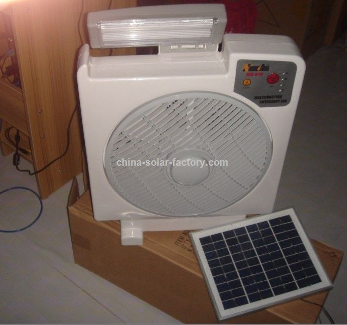Ventilatore a pannelli solari