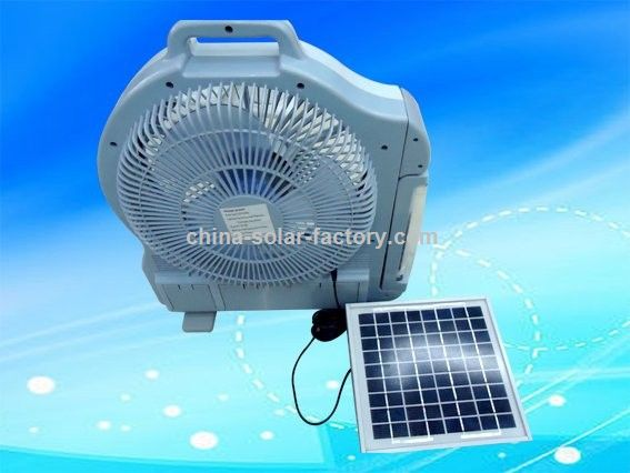 wholesale/3W 12INCHES/Novel Design/SOLAR ELECTRIC FAN