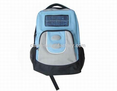 Solar Backpack Charger for Mobile Phone, Digital Camera