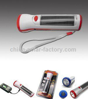 Solar Multi-Function Flashlight