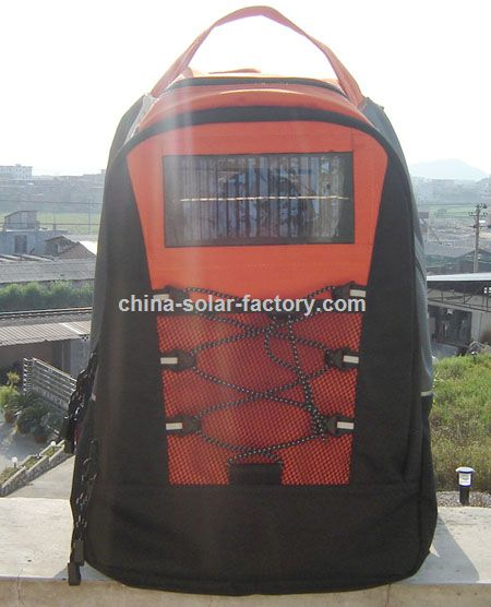 Solar Power Backpack