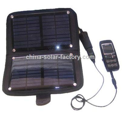 Mobile Phone Solar Charger Kit