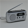 Solar Radio Flashlight FM Am With Dynamo Crank Radio Charger