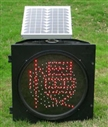 Singal Solar Traffic Light
