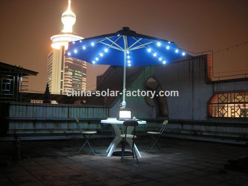 LED Patio Table Umbrella Lights  Outdoor LED Table Umbrella
