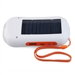 Solar Power with LED Flashlight FM Radio