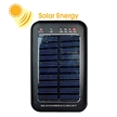 1,600mAh solar charger for mobiles, cameras and MP3 MP4 Players