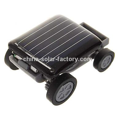 promotionnels la plus petite voiture du monde solaire. Black Bedroom Furniture Sets. Home Design Ideas