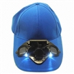 Solar Fan Caps with LED Light and New Design, Various Colors are Available
