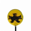 Solar Halloween Decorative Stake Garden Light, 1-piece Superbright White LED, Rechargeable Battery