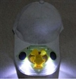 Solaire LED Light Cap Fan