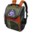 Solar School Bag With Warning Light